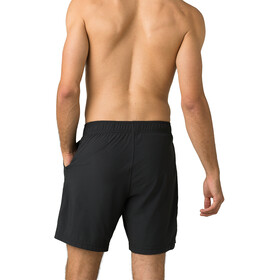 "Prana Heiro Shorts 8"" Inseam Men black"
